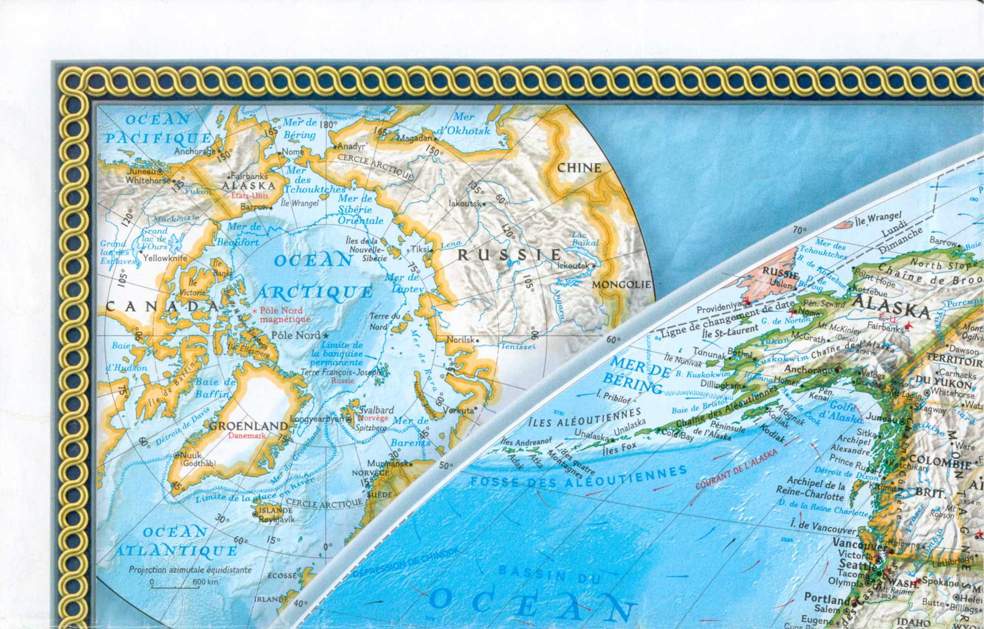 Carte Du Monde 2004 National Geographic