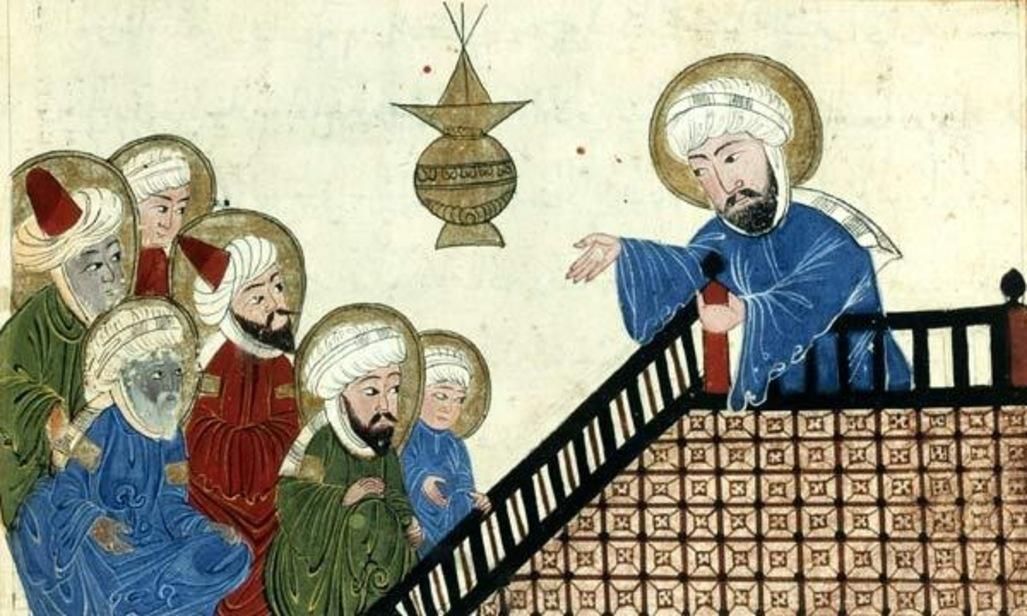 CoranXVIISiecleAnnoDominiPropheteMohammedSermonDAdieuMiniatureOttomane Sufismo: A religião mística do Islã que foi pioneira do haxixe e do café
